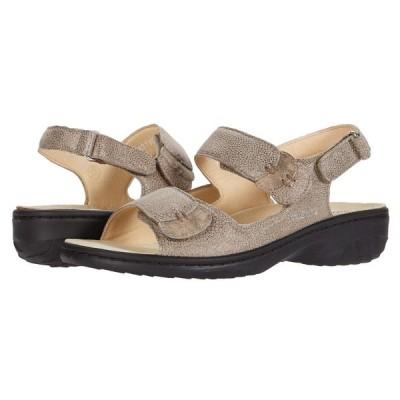 メフィスト Mephisto レディース サンダル・ミュール シューズ・靴 Getha Dark Taupe Arctic/Monaco