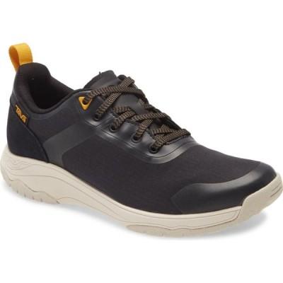 テバ TEVA レディース ハイキング・登山 スニーカー シューズ・靴 Gateway Water Resistant Hiking Sneaker Black