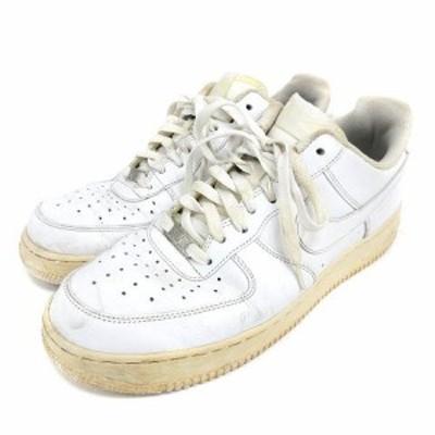 【中古】ナイキ NIKE 315122-111 ローカット エアフォース スニーカー 29cm ホワイト 210308E 靴 ☆AA★ メンズ