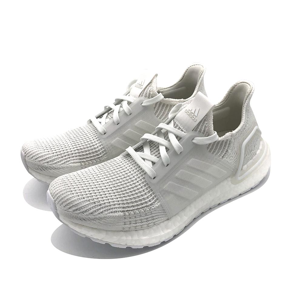 ADIDAS UltraBOOST 19 w 女 白 慢跑鞋