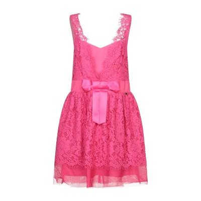 レリッシュ RELISH ミニワンピース&ドレス フューシャ M コットン 65% / ナイロン 35% / ポリエステル ミニワンピース&ドレス