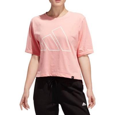 アディダス レディース シャツ トップス adidas Women's The Pack Universal Graphic Cropped T-Shirt