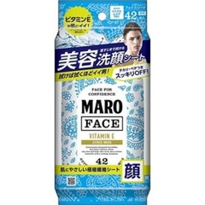 マーロ デザインフェイスシート ペイズリー (42枚入)