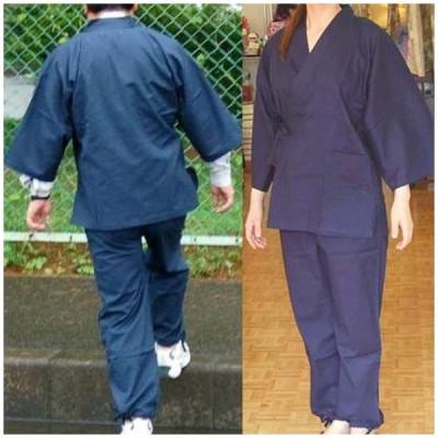 作務衣(激安)7分袖 薄手 男女兼用