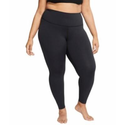 ナイキ レディース カジュアルパンツ ボトムス Yoga Luxe 7/8 Tights (Size 1X-3X) Black/Dark Smok