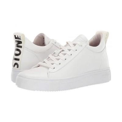 Blackstone レディース 女性用 シューズ 靴 スニーカー 運動靴 Mid Sneaker Black Stone - RL65 - White