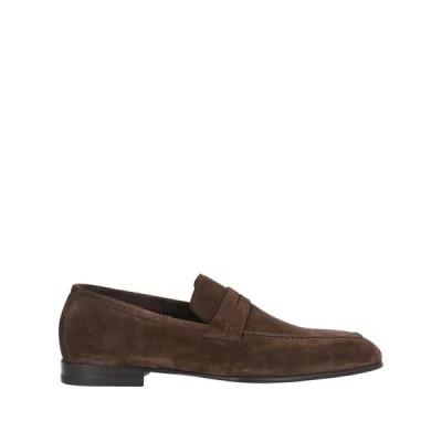 SANTONI モカシン  メンズファッション  メンズシューズ、紳士靴  モカシン ブラウン