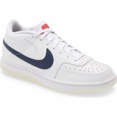 ナイキ NIKE メンズ スニーカー シューズ・靴 Sky Force 3/4 Sneaker White/College Navy/Obsidian