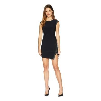 【残り1点!】【サイズ:8】ベベ Bebe レディース ワンピース・ドレス ワンピース Side Gathered Slit Dress Black