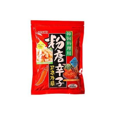 ユウキ食品粉唐辛子(韓国料理用) 200g ユウキ食品