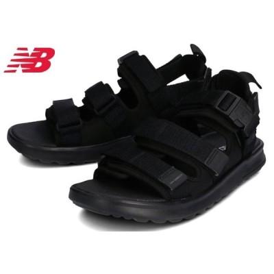 送料無料 [北海道、沖縄除く] ニューバランス SDL750TK new balance スポーツサンダル メンズ 紳士 2WAY ブラック 黒 靴 セール