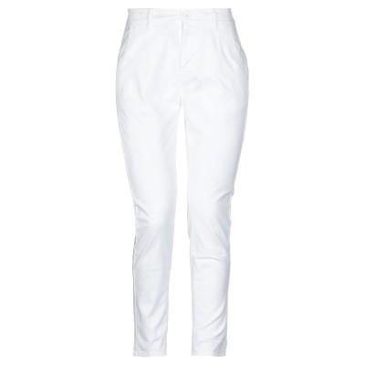 BEVERLY HILLS POLO CLUB パンツ ホワイト 26 コットン 98% / ポリウレタン 2% パンツ