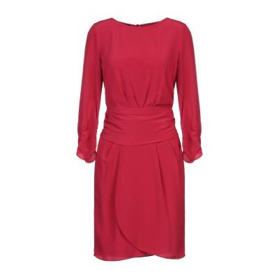 エンポリオ アルマーニ EMPORIO ARMANI ミニワンピース&ドレス ボルドー 40 100% シルク ミニワンピース&ドレス