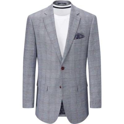 スコープス Skopes メンズ ジャケット アウター furnari linen blend jacket Blue