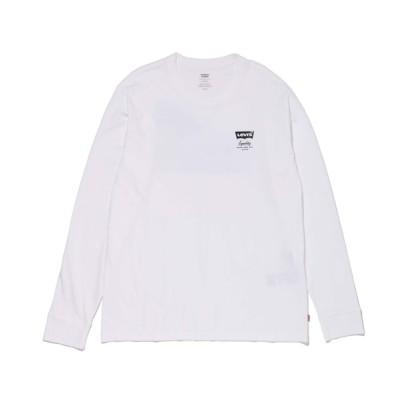 Levi's / リラックスロングスリーブグラフィックTシャツ SSNL HM LS2 WHITE MEN トップス > Tシャツ/カットソー