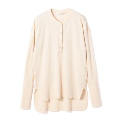 tシャツ Tシャツ ESTNATION / ワッフルヘンリーネックカットソー