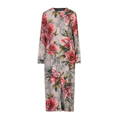 SOALLURE 7分丈ワンピース・ドレス ドーブグレー 40 レーヨン 100% 7分丈ワンピース・ドレス