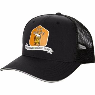 ブルックス Brooks メンズ キャップ トラッカーハット 帽子 Discovery Trucker Hat Black/Run Hoppy Beer Can
