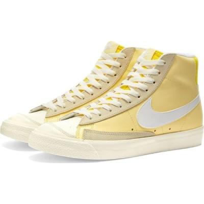 ナイキ Nike レディース スニーカー シューズ・靴 blazer mid 77 w Bicycle Yellow/White