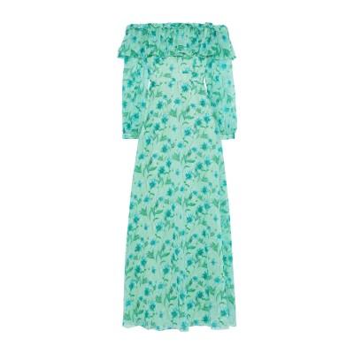 MIKAEL AGHAL ロングワンピース&ドレス ライトグリーン 4 ポリエステル 100% ロングワンピース&ドレス