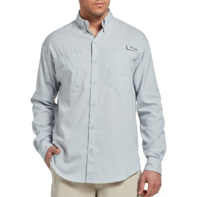 コロンビア シャツ トップス メンズ Columbia Men's Tamiami II Long Sleeve Shirt (Regular and Big & Tall) CoolGrey