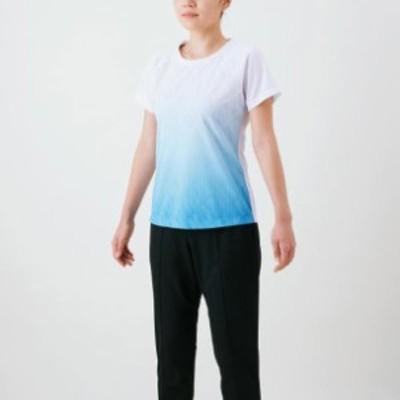 ドライエアロフローグラフィックTシャツ(レディース) 【MIZUNO】ミズノ トレーニングウエア Tシャツ (32MA1310)