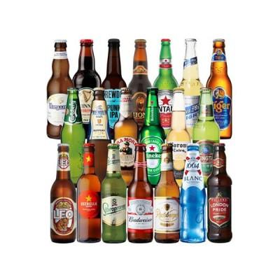 世界のビール飲み比べ20か国 セット 20本 送料無料 飲み比べ 輸入ビール ギフト 長S 母の日 父の日