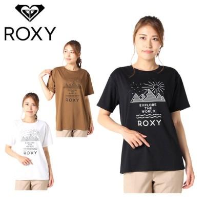 ロキシー ROXY  Tシャツ 半袖 レディース CANYON UVカット 抗菌防臭 RST212053