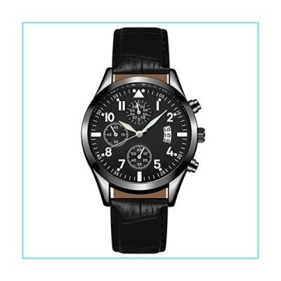 Mens Watches,Luxury Watches Quartz Watch for Men Fashion Elegant Wristwatch Dial Casual Simple Bracelet Watch Business Analog Wrist Watch Gi
