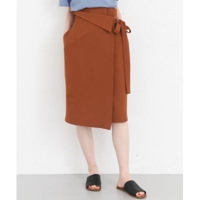 【アーバンリサーチ アウトレット】 ウエストデザインリボンスカート レディース ブラウン ONE URBAN RESEARCH OUTLET