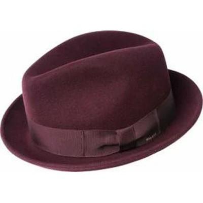 Bailey of Hollywood メンズ帽子 Bailey of Hollywood Bogan Fedora 37172BH Burgundy