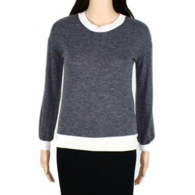Becca ベッカ ファッション トップス Johnny Becca Womens Sweater Gray Size Small S Crewneck Two Tone Ribbed