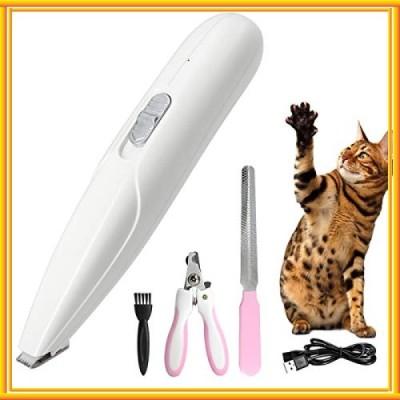 ペット用バリカン 犬用バリカン ペット用 犬 猫 足裏 電動 USB充電式 クリッパー グルーミング トリマー ミニブ