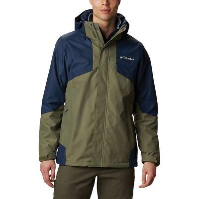 コロンビア Columbia メンズ フリース トップス Bugaboo II Fleece Interchange Jacket Stone Green/Collegiate Navy