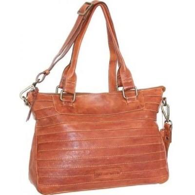 ニノボッシー Nino Bossi レディース ハンドバッグ サッチェルバッグ バッグ Rebekah Convertible Satchel Cognac Leather