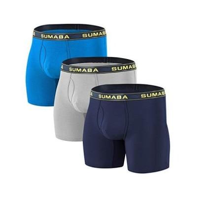 ボクサーパンツ メンズ 下着 前開き セット またずれ防止 パンツ ロングボクサー ブリーフ 大きいサイズ 速乾 スポーツ 夏
