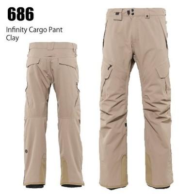 686 シックスエイトシックス ウェア Infinity Cargo Pant 21-22 Khaki メンズ パンツ スノーボード ロクハチ