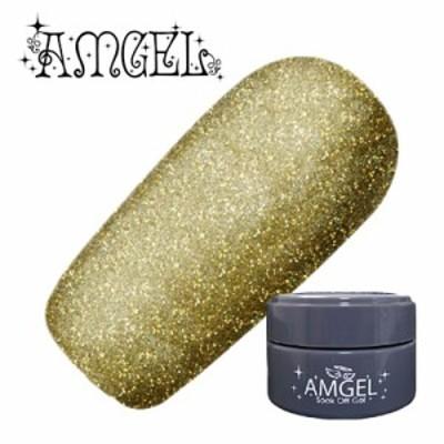 ジェルネイル セルフ カラージェル アンジェル AMGEL カラージェル AG3001 モットゴールド 3g