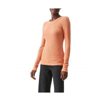 Michael Stars ミッシェルスターズ レディース 女性用 ファッション Tシャツ Thermal Juliet Crew Neck Top - Mars