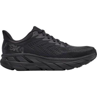 ホッカオネオネ シューズ メンズ ランニング HOKA ONE ONE Men's Clifton 7 Running Shoes Black/Black