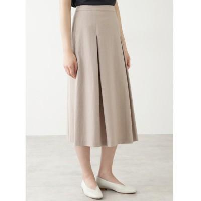 スカート ◆セルロース綿/PE麻ツイルスカート