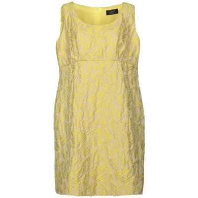 CLIPS ミニワンピース&ドレス イエロー 42 ポリエステル 78% / ナイロン 22% ミニワンピース&ドレス
