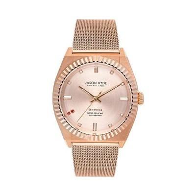 Jason hyde Ruby-eigth Womens Analog Quartz Watch with Stainless Steel Bracelet JH20006