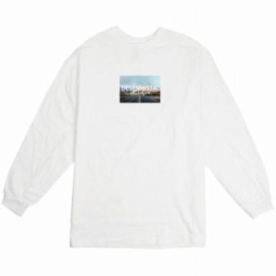 ロングTシャツ ロンT ストリート ホワイト 白 大人 ユニセックス メンズ レディース 大きめサイズ 大きいサイズ 長袖 おしゃれ かっこい