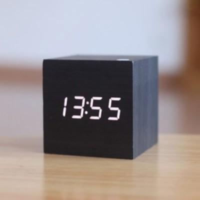 アンティーク オフィス 時計ヴィンテージデジタル led レトロ表パーソナライズ アートクロックサイレント ギフト
