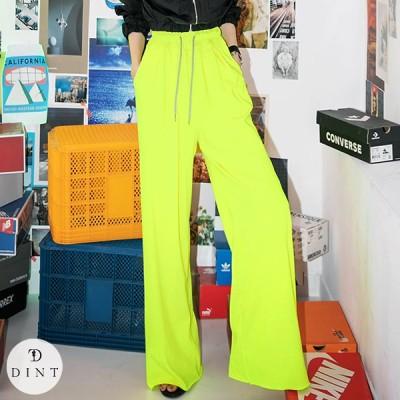 「DINT」 ★送料無料★P2260 ワイド·バンディング·パンツ セレブ系オフィススタイル 韓国ファッションブランドDINTのオシャレなオフィススタイル提案!