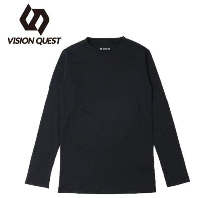 アンダーウェア 長袖 ジュニア JRクルー VQ451501H54 ビジョンクエスト VISION QUEST