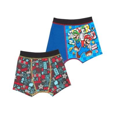 【スーパーマリオ】ボクサーパンツ2枚組(男の子 子供服) キッズ下着, Kid's Underwear