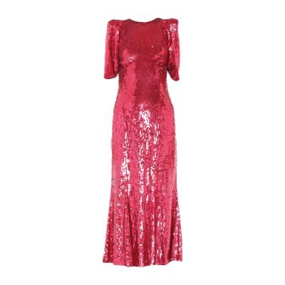 アティコ THE ATTICO ロングワンピース&ドレス ガーネット 40 ナイロン 100% / レーヨン / ポリ塩化ビニル ロングワンピース&