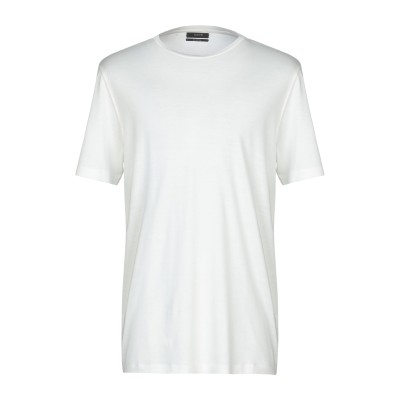 カオス KAOS T シャツ ホワイト S コットン 50% / シルク 50% T シャツ
